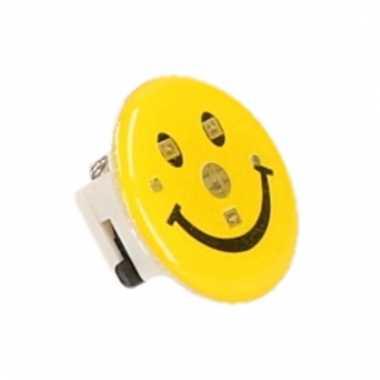 Emoticon button met licht