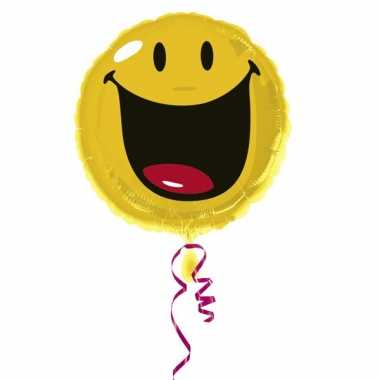 Emoticon folie ballon