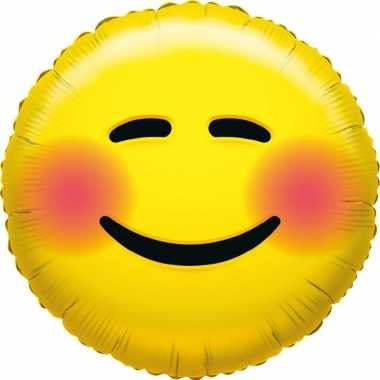Folie ballon bloos emoticon 45 cm