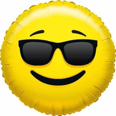 Folie ballon coole emoticon 45 cm