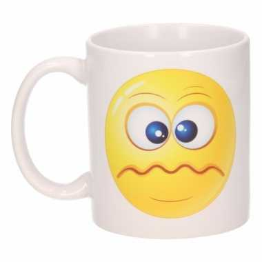 Schele emoticon mok / beker 300 ml