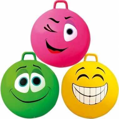 Skippybal emoticon voor kinderen 70 cm