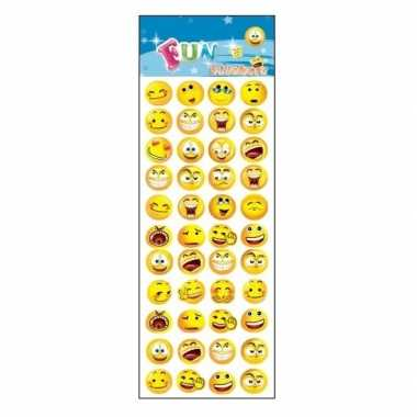 Stickervel emoticons