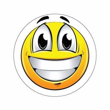 Vrolijke emoticon sticker type 1