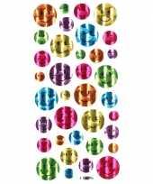 36x emoticon glimmende stickers