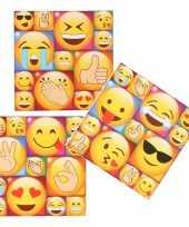39x emoji emoticon koelkast memo magneten 10274470