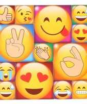 52x emoji emoticon koelkast memo magneten 10274471