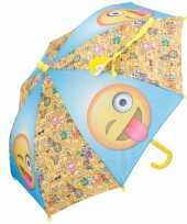 Disney kinder paraplu emoticons 65 cm