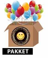 Emoticon feest pakket