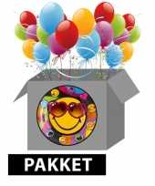 Emoticon feestpakket