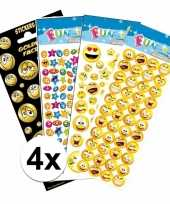 Emoticon thema kinder stickers pakket