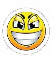 Ondeugende emoticon sticker type 7